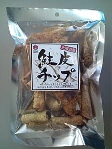 江戸屋 鮭皮チップ 34g×10袋