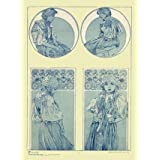 Figures Decoratifs, by Alphonse Mucha (Print On Demand)