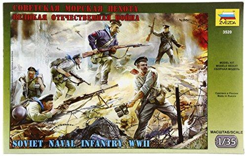 1/35 Soviet Naval Infantry WWII - 1