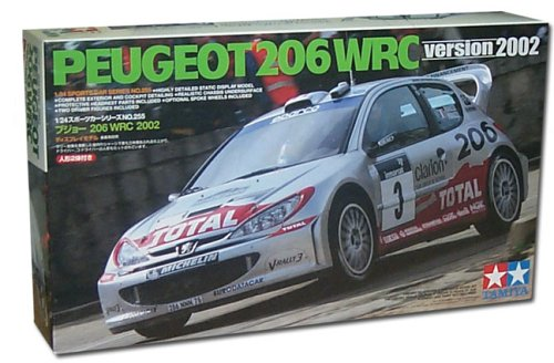 Peugeot 206 WRC 2002 Richard Burns 1:24 Scale Kit