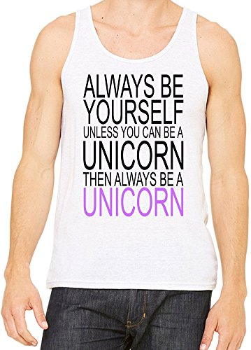 Always Be Yourself Slogan Canotta Uomini Donne Large