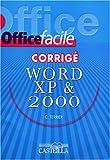 echange, troc Terrier - Word XP (2002) & 2000 : Corrigé