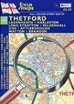 Full Colour Street Map of Thetford: L...