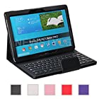 NEWSTYLE Samsung Galaxy Note PRO & Tab PRO 12.2 Case - Wireless Bluetooth Keyboard Cover for Galaxy NotePRO & TabPRO 12.2 inch Android Tablet - Black Color