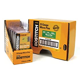 Bostitch PT-2319-3M 3/4-Inch 23 Gauge Pin (3000 per Box)
