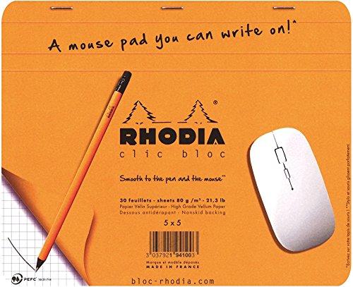 ロディア クリックブロック マウスパッド 5mm方眼
