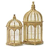 IMAX Gazebo Birdcages, Set of 2