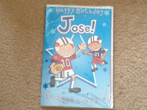 Happy Birthday Jose - Singing Birthday Card - 1