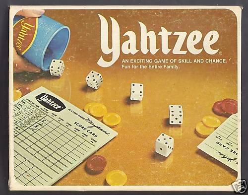Vintage Yahtzee 1978 Game - 1