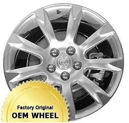 BUICK ALLURE,LACROSSE 19X8.5 9 SPOKE Factory Oem Wheel Rim- MACHINE LIP SILVER – Remanufactured