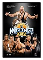 WrestleMania XXIV DVD Artwork