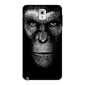 Special Chimp King Black Back Case Cover for Galaxy Note 3