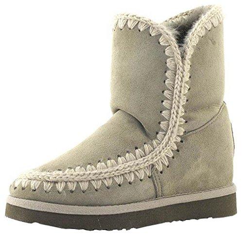 MOU Eskimo Inner Wedge Short Corda, bota para mujer Mou, 36