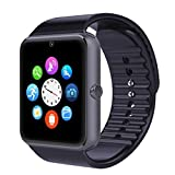 Pandaoo GT08 One Bluetooth Phone Smart Wrist Watch Phone with NFC and GSM Standalone Function - iPhone/Android Compatible - Black