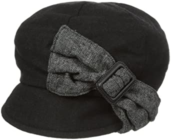 San Diego Hat Women's Bow Hat, Black, One Size