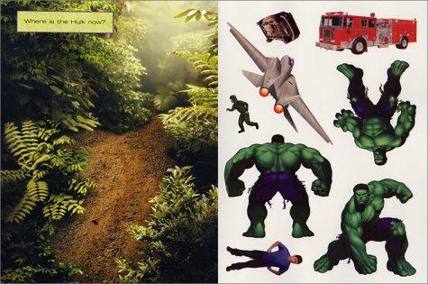 Hulk Reusable Sticker Book