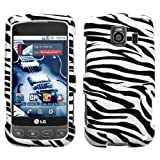 Zebra Print Protector Case for LG Optimus S / LG Optimus U