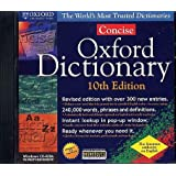 CONCISE OXFORD DICT. 10TH ED (closeout)