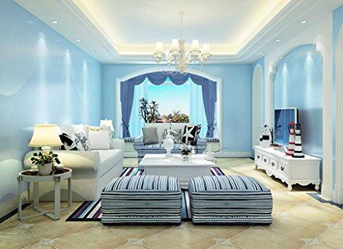 San tai modern retro wohnzimmer vliestapete flock tapeten for 55 qm wohnzimmer