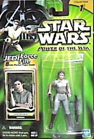 Star Wars Power of the Jedi General Leia Organa Action Figure - 1