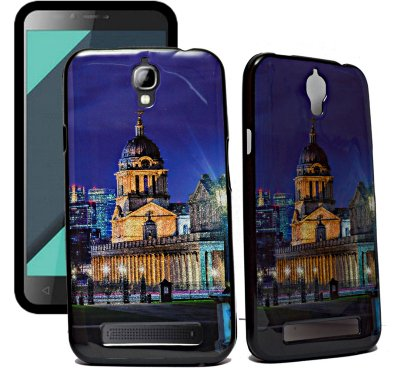 ECellStreet Exclusive Sparkle Printed Soft Back Case Cover Back Cover For Karbonn Quattro L50 HD - Palace