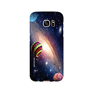 iSweven printed samS7E_3294 Balloon in the sky Design Multicolored Matte finish Back case cover for Samsung Galaxy S7 EDGE