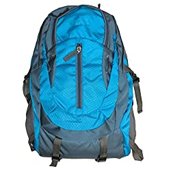 Greentree Backpack Multi Purpose Bag Unisex College Desiner Blue Bag MBG01