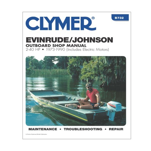 Clymer Evinrude/Johnson 2-40 Hp Outboards (Includes Electric Motors) (1973-1990)