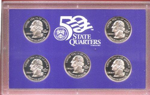 Coins United States Mint 2005 Washington Quarter Dollar Proof Coin Set