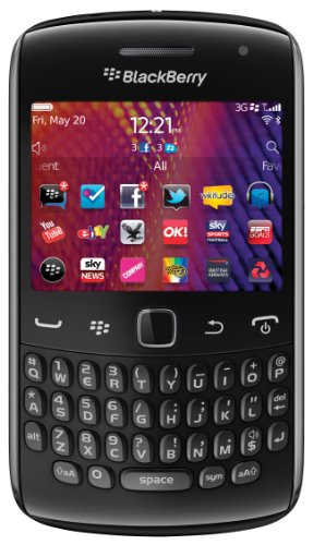 Vodafone BlackBerry Curve 9360 Pay as you go Smartphone - Black Black Friday & Cyber Monday 2014