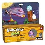 K'NEX Angry Birds Lazer Bird Versus Frozen Pig Building Set