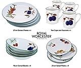 Royal Worcester Evesham Vale 16 Piece Dinner Set