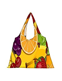 Snoogg High Strength Reusable Shopping Bag Fashion Style Grocery Tote Bag Jhola Bag - B01B96YXHO