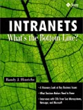 Intranets: Whats the Bottom Line?