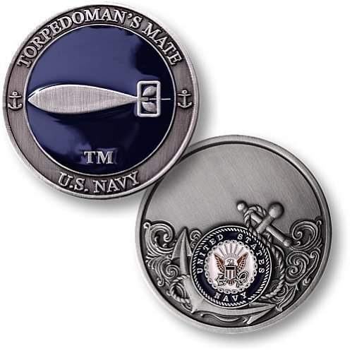 Navy Torpedoman's Mate - Enamel