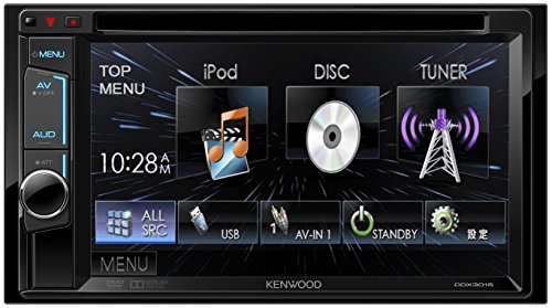 KENWOOD MP3/WMA/AAC/WAV対応DVD/CD/USBレシーバー DDX3015