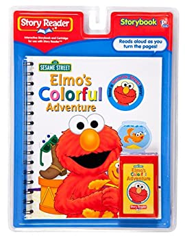 Story Reader Sesame Street Book: Elmo's Colorful Adventure