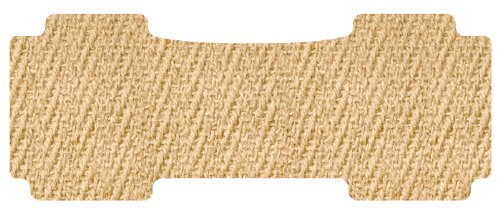 Set of 2 Lund 583018-T Catch-It Carpet Tan Front Seat Floor Mat