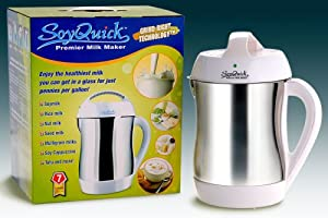 NEW Soymilk Maker - SoyQuick Premier Milk Maker 930P