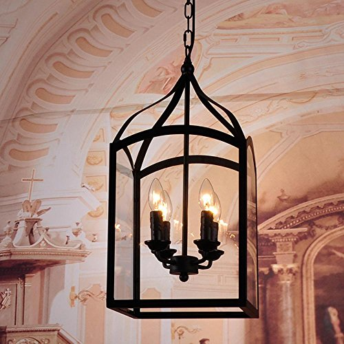 lina-american-vintage-wrought-iron-rustic-glass-box-pendant-4