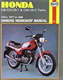 Honda CB/CD125T and CM125C Twins 1977-88 Owner's Workshop Manual (Motorcycle Manuals) Jeremy Churchill