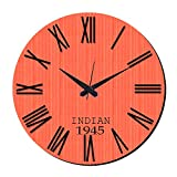MeSleep Indian Vintage Wall Clock With Glass Top