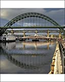 Photographic Print of The Tyne Bridges, Newcastle upon Tyne, England from Arcaid Images