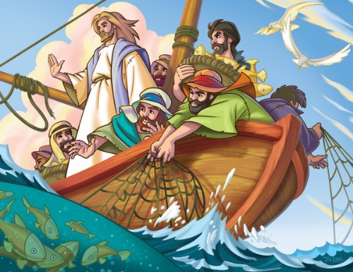 EuroGraphics Jesus the Fisherman 100-Piece Puzzle