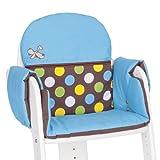 Herlag Tipp-Topp IV Silla con asiento acolchado Waldi Azul / del lunar de Brown