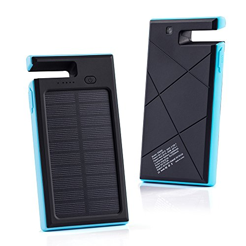 GRDE 10000mAh Solar Power Bank (with Dock)