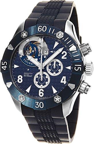 Zenith Zenith Defy Classic Sea Tourbillon Men's Automatic Chronograph Swiss Diver's Watch 03.0529.4035/51.R674