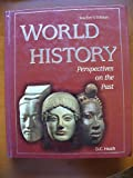 World history: Perspectives on the past (0669255998) by Krieger, Larry