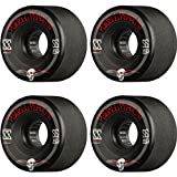Powell Peralta G-Slides Black Skateboard Wheels - 56mm 85a (Set of 4)