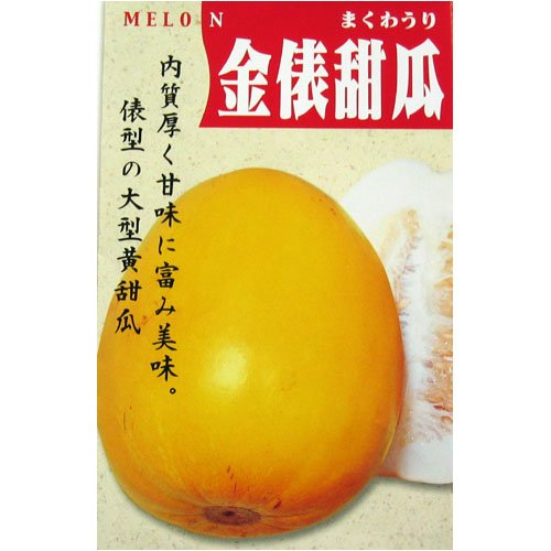 金俵甜瓜(一般種) 数量:60粒